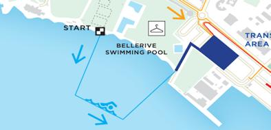 Bellerive swimming pool area